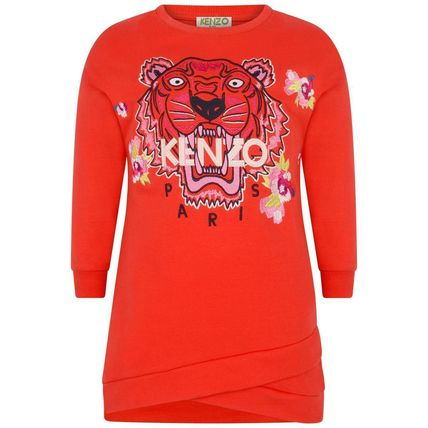 6 8 and 10 KENZO Pink long sleeved top with velvet detail sizes 4