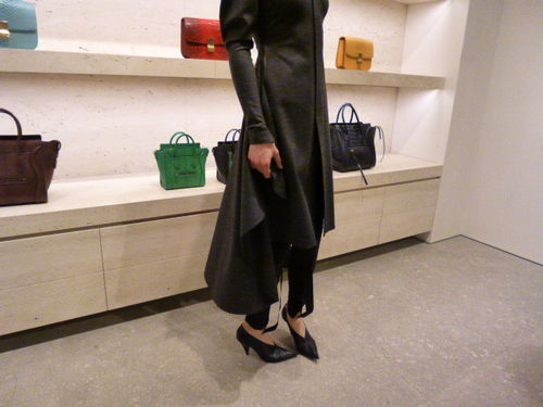 CELINE TrunkShowをレポート