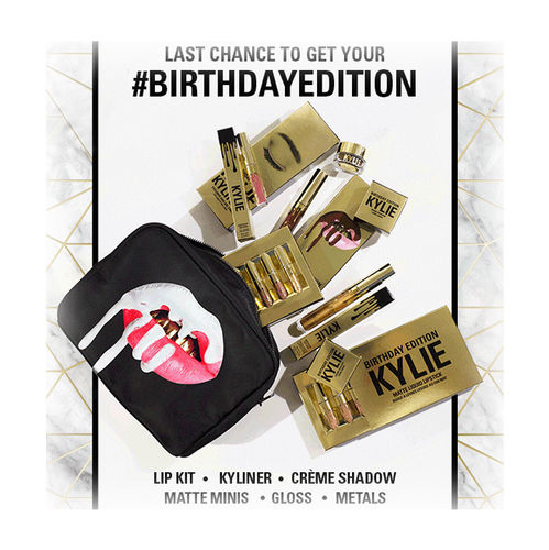 10秒で完売! KYLIE COSMETICS BIRTHDAY COLLECTION