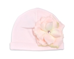Pale Pink Rose Hat コットンハット