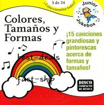 CD スペイン語童謡♪Spanish Songs-Colores, Tamanos y Formas