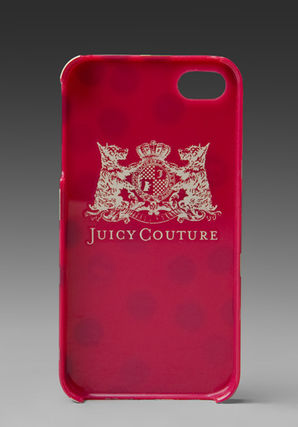 JUICY COUTURE iPhone・スマホケース JUICY COUTURE★i phone 4 ケース(2)