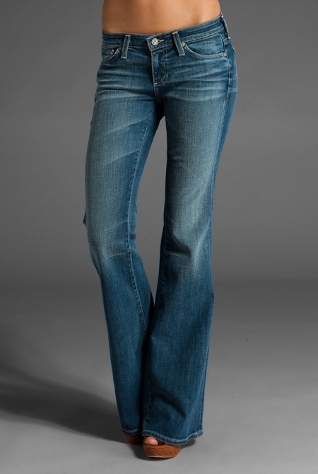 AG/The Belle Flare Jeans(16 Year Dust)