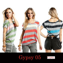 Gypsy 05(ジプシー05) Tシャツ・カットソー Gypsy05 Raya Scoop Neck Tシャツ ☆送料込国内発送