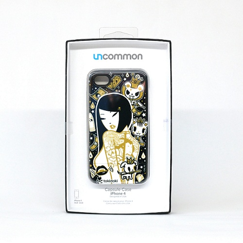 Tokidoki iphone4/4S case Capsul type 24K