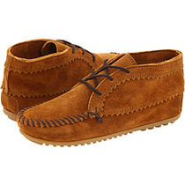 ★Minnetonka:Suede Ankle Boot-Brown★