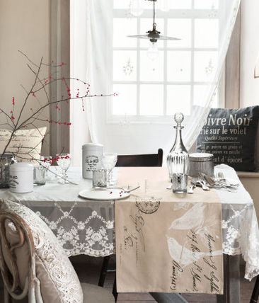 H & M HOME lace tablecloth
