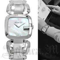 ★シンプル★Gucci G Pearl Dial Ladies Watch YA125404