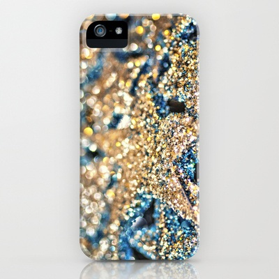Society6 スマホケース・テックアクセサリー Society6 iPhone5用 Starry Wishes and Bokeh Dreams... ケース