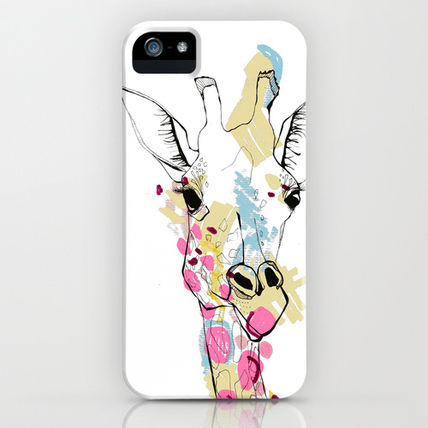 Society6 iPhone・スマホケース Society6 iPhone5用 G-raff colour キリン ケース