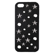 iPhone5★超人気【ENLA】 STARMIX STUDDED LEATHER COVER