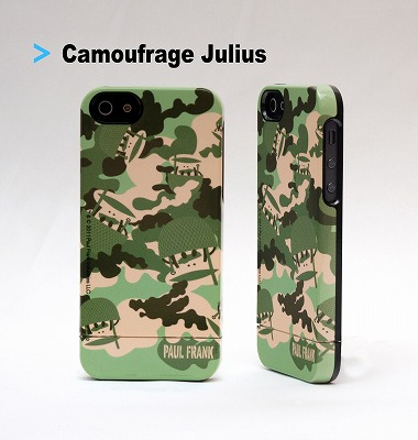 Paulfrank iphone5 capsule Case  新作 Camoufrage Julius