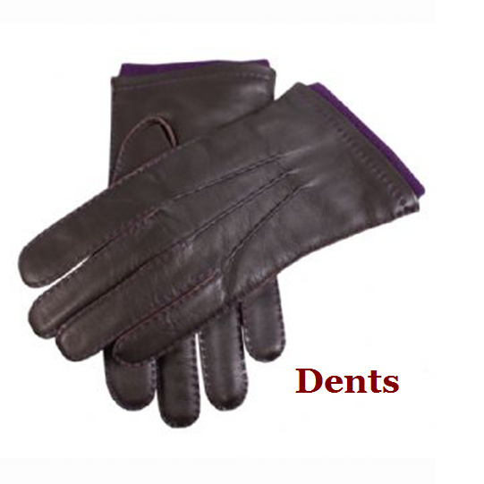 DENTS(デンツ) Contrast leather グローブ 手袋