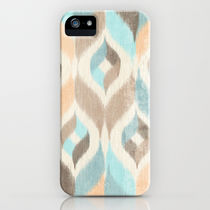 Society6 iPhone5用 Soothing Waves Ikat ケース