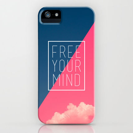 Society6 iPhone・スマホケース Society6 iPhone5用 Free Your Mind III