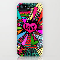 Society6 iPhone5用 Power of Love...2 ケース