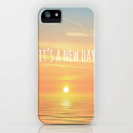 Society6 iPhone・スマホケース Society6 iPhone5用 It's A New Day (Typography) ケース