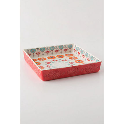 Anthropologie Brownie tray