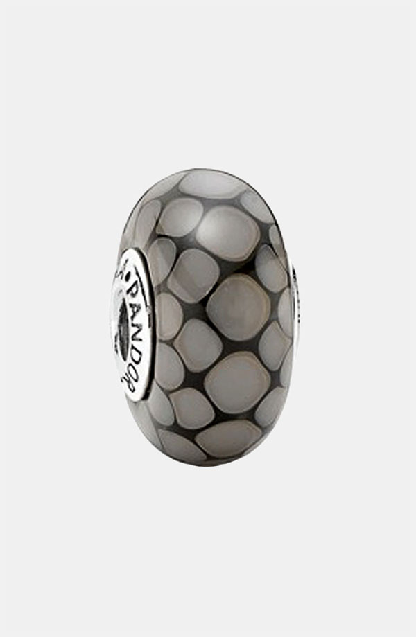PANDORA パンドラ Exotic Large Murano Glass Grey 790699
