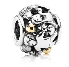 PANDORA パンドラ Family Forever Charm With 14K 791040