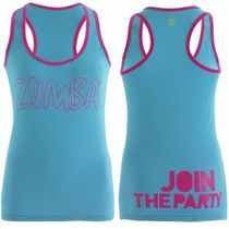 XS/S/M/L/XL☆ZUMBA・ズンバ☆Life of the Party Racerback AQ