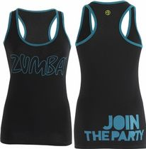 XS/S/M/L/XL☆ZUMBA・ズンバ☆Life of the Party Racerback BK