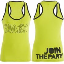 XS/S/M/L/XL☆ZUMBA・ズンバ☆Life of the Party Racerback LG