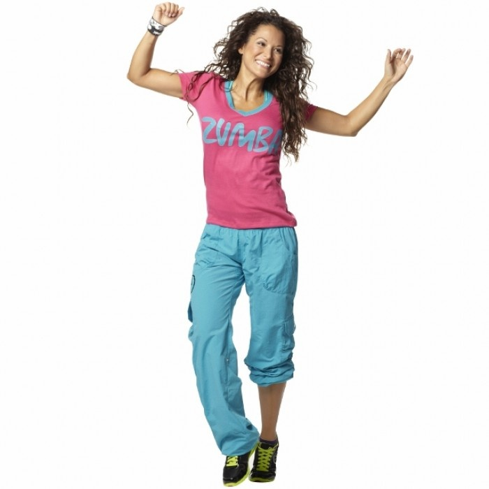 XS/S/M/L/XL☆ZUMBA・ズンバ☆Life of the Party V Neck  Tee PK