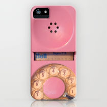 Society6 iPhone4/4S,5用 Pink Hotline by Bomobob