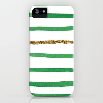 Society6 iPhone・スマホケース Society6 iPhone4/4S,5用 Sparkle Stripe II by Social Proper
