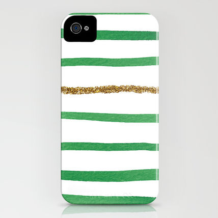 Society6 iPhone・スマホケース Society6 iPhone4/4S,5用 Sparkle Stripe II by Social Proper(3)
