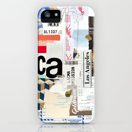 Society6 iPhone・スマホケース Society6 iPhone4/4S,5用 Los Angeles by Emily Rickard
