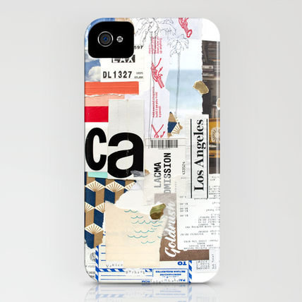 Society6 iPhone・スマホケース Society6 iPhone4/4S,5用 Los Angeles by Emily Rickard(3)