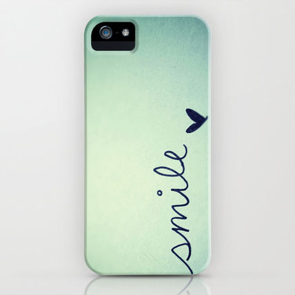 Society6 iPhone・スマホケース Society6 iPhone4/4S,5用 s m i l e by Rubybirdie
