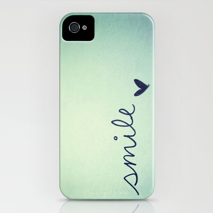 Society6 iPhone・スマホケース Society6 iPhone4/4S,5用 s m i l e by Rubybirdie(3)