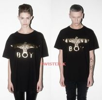 国内発送★Boy London★ユニセックス!Boy Eagle T-shirt Gold
