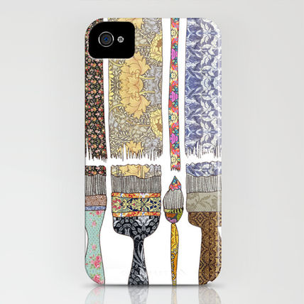 Society6 iPhone・スマホケース Society6 iPhone4/4S,5用 color your life by Bianca Green(3)