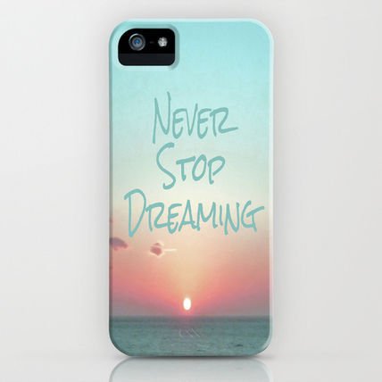 Society6 iPhone・スマホケース Society6 iPhone4/4S,5用 Never Stop Dreaming by Ally Coxon