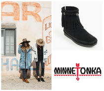 ケイト・モス愛用★Minnetonka:Hi Top Back Zip Boot-299★