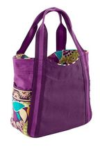 Small Colorblock Tote in Plum Crazy / 期間限定発売品!