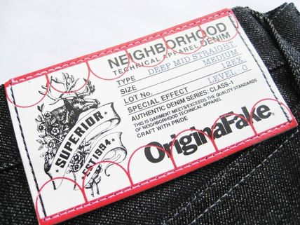 6周年記念!OriginalFake X NEIGHBORHOOD Rigid Denim M黒