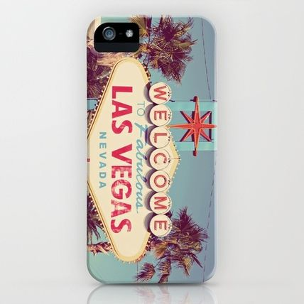 Society6 iPhone・スマホケース Society6 iPhone4/4S,5用 Welcome to fabulous Las Vegas