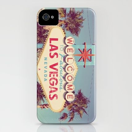 Society6 iPhone・スマホケース Society6 iPhone4/4S,5用 Welcome to fabulous Las Vegas(3)
