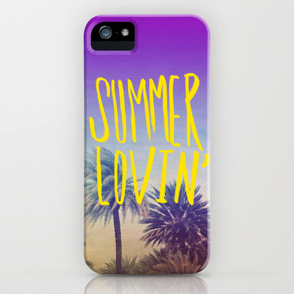 Society6 iPhone・スマホケース Society6 iPhone4/4S,5用 Summer Lovin' by Leah Flores