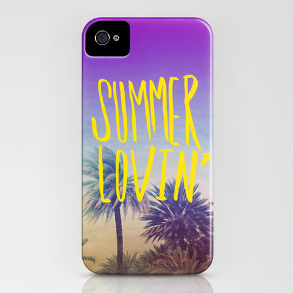 Society6 iPhone・スマホケース Society6 iPhone4/4S,5用 Summer Lovin' by Leah Flores(3)