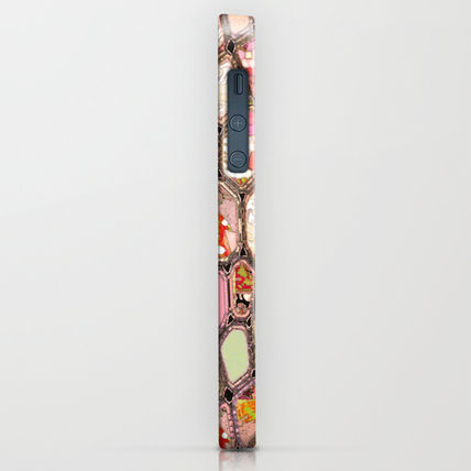 Society6 iPhone・スマホケース Society6 iPhone4/4S,5用 Cells in Pink by Ingrid Padilla(2)