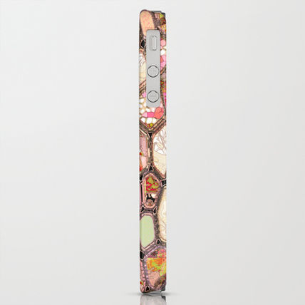 Society6 iPhone・スマホケース Society6 iPhone4/4S,5用 Cells in Pink by Ingrid Padilla(4)