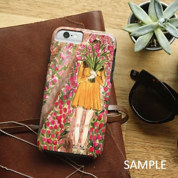 Society6 iPhone4/4S,5用 Cells in Pink by Ingrid Padilla