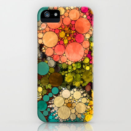Society6 iPhone・スマホケース Society6 iPhone4/4S,5用 Perky Flowers! by Love2Snap
