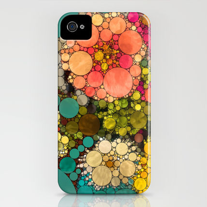 Society6 iPhone・スマホケース Society6 iPhone4/4S,5用 Perky Flowers! by Love2Snap(3)